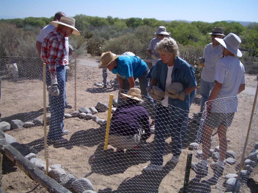 05 - Pebble gardens construction